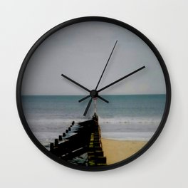 Sky Sea Sand Wall Clock