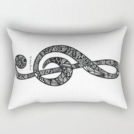 Chiave di sol Rectangular Pillow