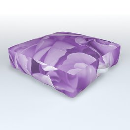 Violet Rose Bouquet For You - Valentine's Day #decor #society6 #homedecor Outdoor Floor Cushion