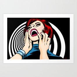 Screaming Sixties Art Print