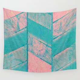 370 12 Pink and Blue Wall Tapestry