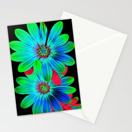 Osteospermum - primary colors Stationery Cards