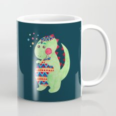 Green Dino Mug