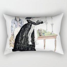 A Downright Gabbler Rectangular Pillow