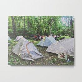 Tent City •Appalachian Trail Metal Print