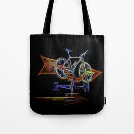 I'd Rather Be Biking Tote Bag