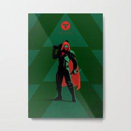 028 Hunter D2 Metal Print