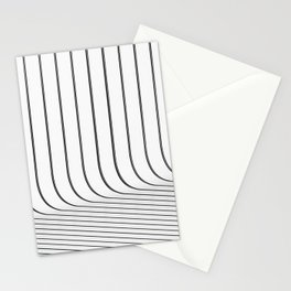 Life Is Never A Straight Line Stationery Cards