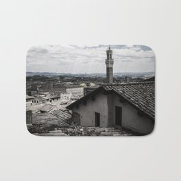 View of Sienna from the Cathedral Bath Mat
