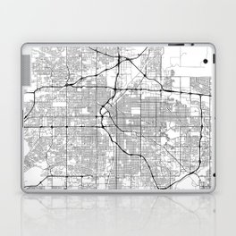 Minimal City Maps - Map Of Denver, Colorado, United States Laptop & iPad Skin