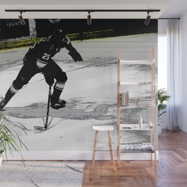 On the Move - Hockey Player Wall Mural