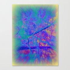 Trippin' thru the forest Canvas Print