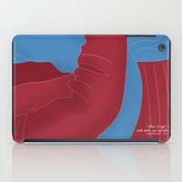 cuddle iPad Cases featuring Let's Cuddle by Salmanorguk