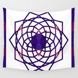 Passionate Purple Prayers Abstract Chakra Art  Wall Tapestry