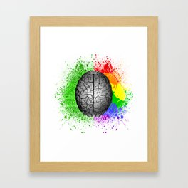 Conflict Within Framed Art Print