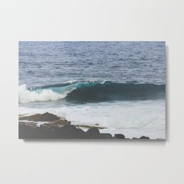 Lanzarote waves Metal Print