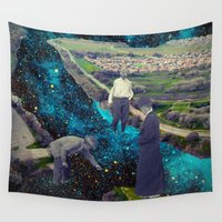river Wall Tapestries featuring River by Cs025