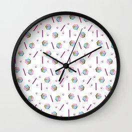 Hexism Wall Clock