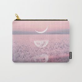 Glitches at Sunset Carry-All Pouch