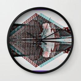 La Louvre Wall Clock