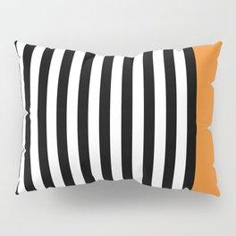 Liquorice allsorts, orange Pillow Sham