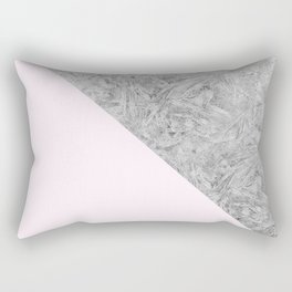 Pink + Frost Rectangular Pillow