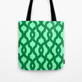 Grille No. 2 -- Seafoam Tote Bag