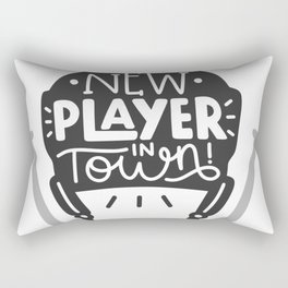 New player in town Rectangular Pillow