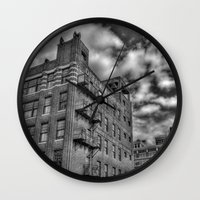 the office Wall Clocks featuring Office Equipment by Mark Alder