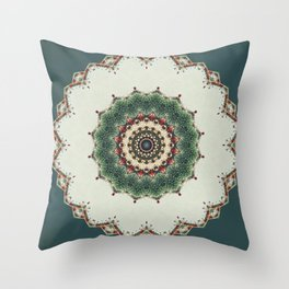 Need a Little Christmas -- Greeting Card Throw Pillow
