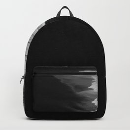 Washed in black Backpack