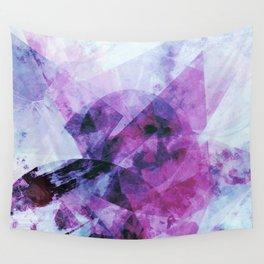 Precipice in Purple II Wall Tapestry