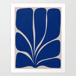 Seven Leaf Plant - 3/3 Art Print