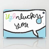 paramore iPad Cases featuring Ughnlucky You by Neryl Cheil