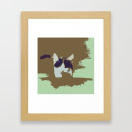 Hello, Cat Framed Art Print
