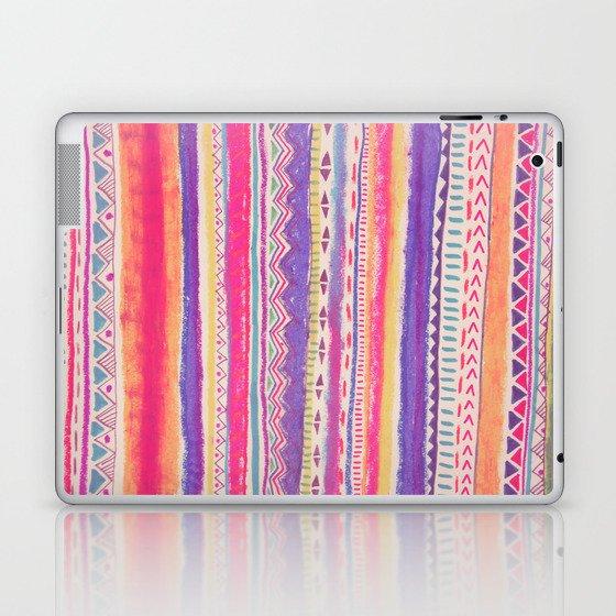 TRIBAL CRAYON / Laptop & iPad Skin
