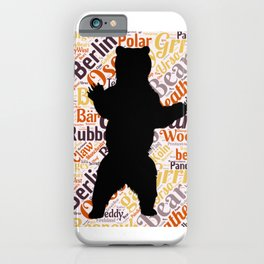 Gay bear pride lgbt bears osos queer art  iPhone Case