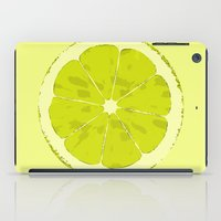 lime iPad Cases featuring Lime by Avigur