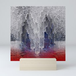 Apocalypse on Ice. Mini Art Print