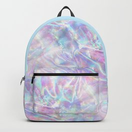 Iridescent Texture Backpack
