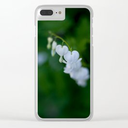 Cinderella Flowers Clear iPhone Case