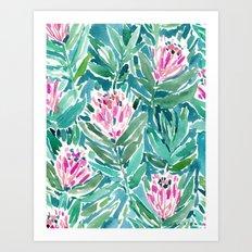 PROTEA PARADISE Art Print
