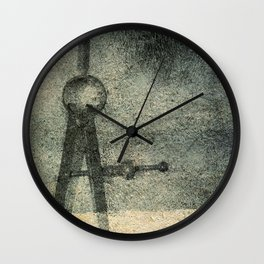 Deeper Injury Wall Clock