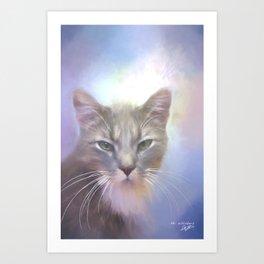 Mr. Whiskers Art Print