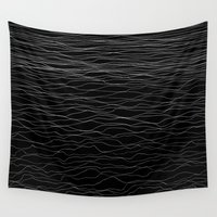 wave Wall Tapestries featuring Wave by Georgiana Paraschiv