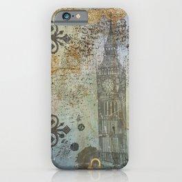 London ephemera vintage iPhone Case