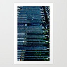 elastic Art Print