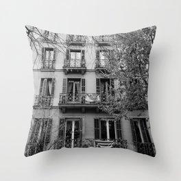 Barcelona Architecture III Throw Pillow