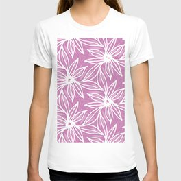 Jungle flowers - Pink T-shirt