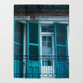 French Quarter Blues, No. 1 Poster